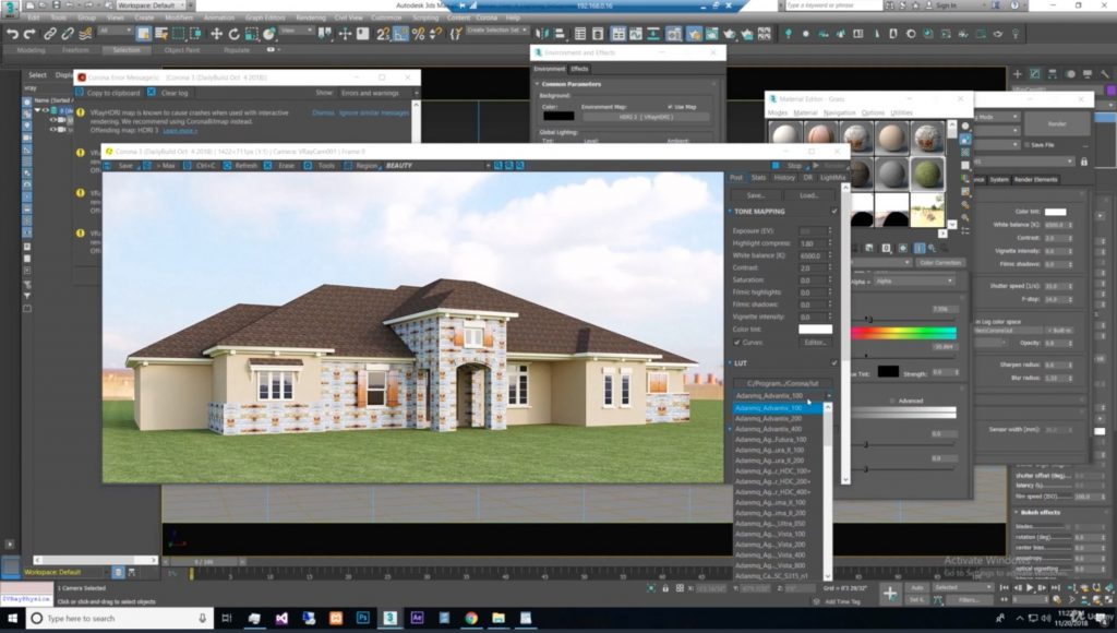 Exterior-3D-Rendering-with-3ds-Max-Corona-3-Fastest-Way-3
