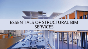 Essentials of Structural BIM Services